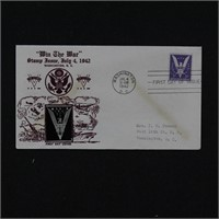 US Stamps #905 Crosby First Day Cover