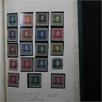 Fiume, Lithuania, & Latvia Stamp Collection