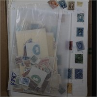 Mexico Stamp Collection on Pages