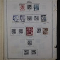 Chile, Haiti, Argentina Stamp Collection on Pages