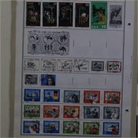 Germany DDR Stamp Collection on Pages
