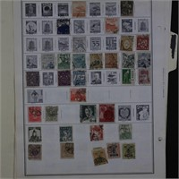 Japan Stamp Collection on Pages