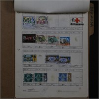 Bermuda Stamp Collection on Pages