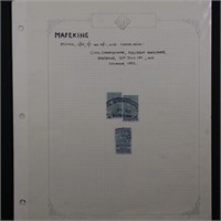 Mafeking Cape of Good Hope Stamps Collection