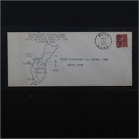 US Stamps Jan 1 1931 Cover 1st post Guam Guard Mai