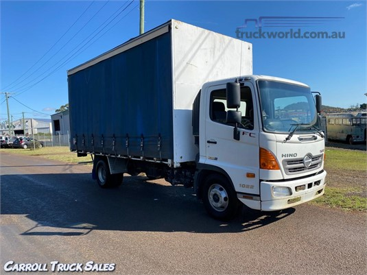 2011 Hino 500 Series 1022 FC Carroll Truck Sales Queensland - Trucks for Sale
