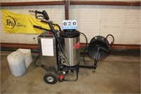 Whitco Raider Power Washer & Steam Cleaner w/Soap