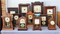Antique Clock Collection up for Auction