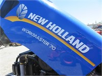 2018 New Holland Workmaster 70 Wheel Tractor