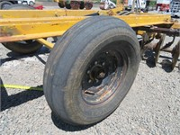 10' Towner Wheel Disc with Ring Roller