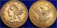 Tues. June 30 Daniels/Shaffer Quality Coin Online Auction!