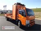 2013 Fuso Canter 815 Crane Truck