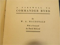 A Farewell to Commander Byrd