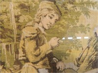 5 Color Tapestry;  1900's