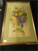 Grape Décor Wall Art