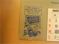 1955 Calendar; Advertising