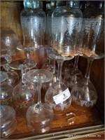 Assorted Christmas Glasses
