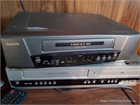 Rca Television W/ Dvd / Vhs Players & Remotes