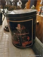 Billy The Bass, Elvis Tin & Misc. Glass Mugs