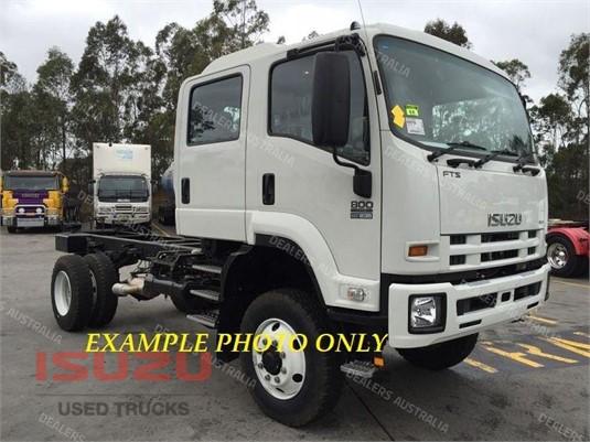 2013 Isuzu FTS 800 4x4 Used Isuzu Trucks - Trucks for Sale