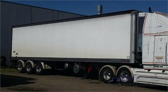 2001 Peki REFRIGERATED PANTECH - Trailers for Sale