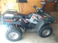Polaris 700 Twin 4 wheeler pic 1