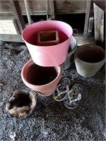 Planters and Miscellaneous
