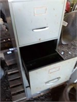 Four-Drawer Metal File Cabinet