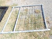Behlen 4' mesh Galvanized gate ( bent up)