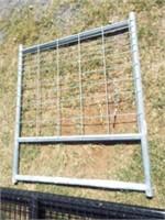 Behlen 4' mesh Galvanized gate