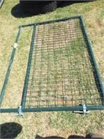 """Behlen 6' Wire filled 1 5/8"""" green gate"""