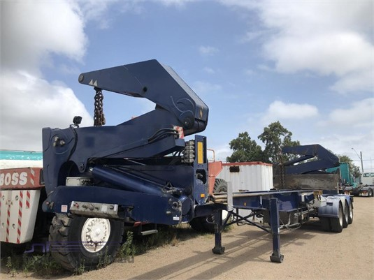 2005 Steelbro Sideloader Semi Trailer Coast to Coast Sales & Hire - Trailers for Sale