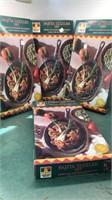 4 Mexican Fiesta Fajita Sets in original boxes