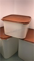 Tupperware Canisters and Drink Mixers