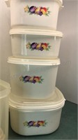 Collection of Metal and Plastic Bowls and
