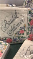 Bridal Shower Paper Plates and Napkins New in