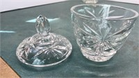 Collection of Vintage Cut Glass Items