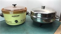 Vintage Rival Crock Pot Slow Cooker and