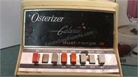 Vintage Osterizer Galaxie Blender and Braun Hand