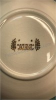 Collection of Vintage Mismatched Plates and Bowls