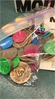 Vintage Tomy Moola Mouth Game