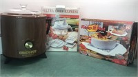 Rival Crock Pot Ultra Chef Express and Microwave