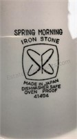 Vintage Sears Iron Stone Spring Morning Serve