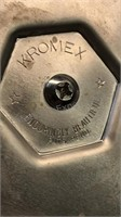 Vintage Kromex and Rubbermade Ice Buckets