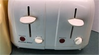 Vintage Deluxe Ice Crusher 4 Slice Toaster with
