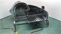 Vintage Electro-Matic Chrome Steel Electric Food