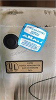 "Vintage Admiral Upright Freezer 57"" Tall 24"" Wide"