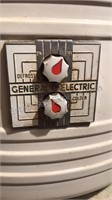 """Antique General Electric Refrigerator 63"""" Tall"""