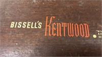 Antique Bissell Kentwood Floor Sweeper and Metal