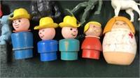 Vintage Toys Fisher Price Little People Light